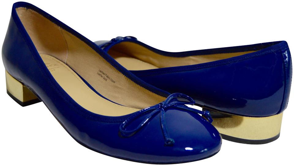 Saks Fifth Avenue Navy 10022- Pumps Madison Patent Leather Pumps 10022- 496f3f