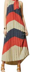 Red, White, and Blue Poka Dots Maxi Dress by Dear Creatures
