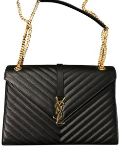 0bca5dadc556 Saint Laurent Monogram Shoulder Bags - Up to 70% off at Tradesy