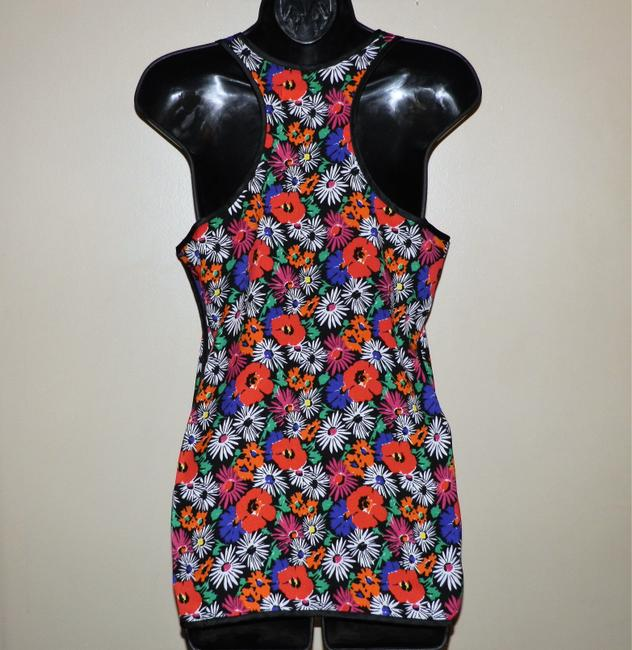 Philosophy Polyester Lightweight Top Flowered Image 3