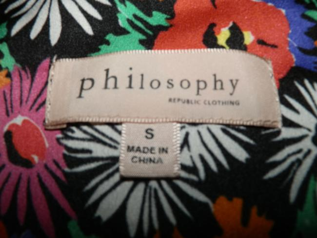 Philosophy Polyester Lightweight Top Flowered Image 5