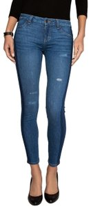 Siwy Low Rise Embroidered Curves Skinny Jeans