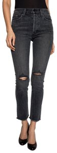 Siwy High Waist Rigid Loose Skinny Jeans-Distressed