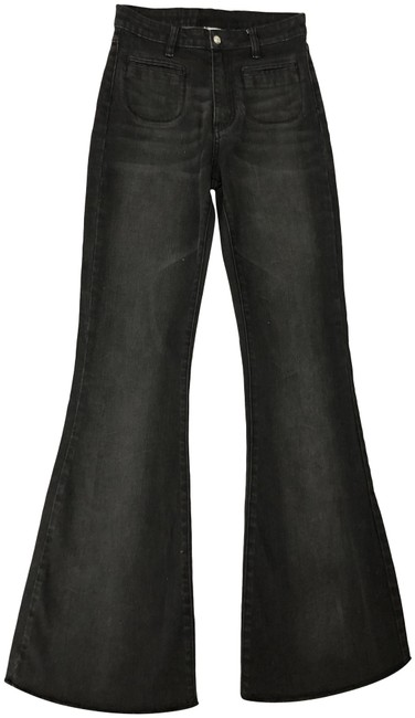 Item - Black High Waisted Flare Leg Jeans Size 27 (4, S)