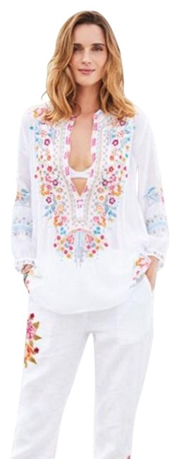 Preload https://img-static.tradesy.com/item/23901700/johnny-was-white-bethanie-tunic-button-down-top-size-4-s-0-1-650-650.jpg