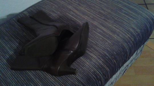 Isotoner Chocolate brown Boots Image 1