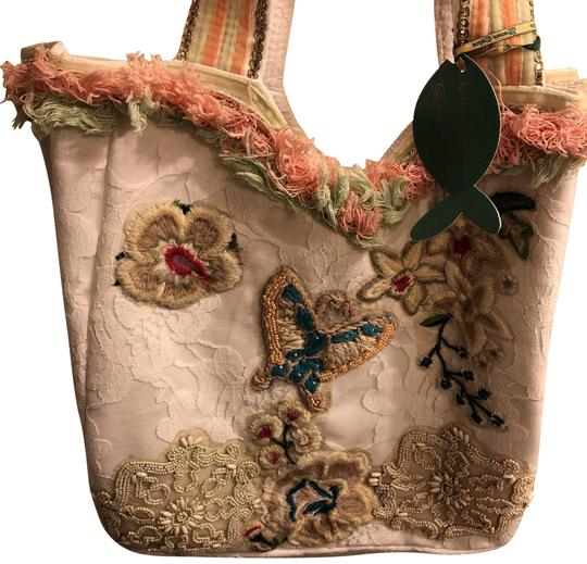 Preload https://img-static.tradesy.com/item/23902367/white-fabric-and-lace-sequins-and-applique-tote-0-2-540-540.jpg