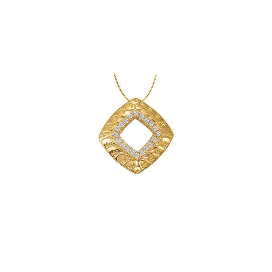 Preload https://img-static.tradesy.com/item/23902463/white-cubic-zirconia-square-shaped-pendant-in-gold-vermeil-over-sterling-sil-necklace-0-0-540-540.jpg