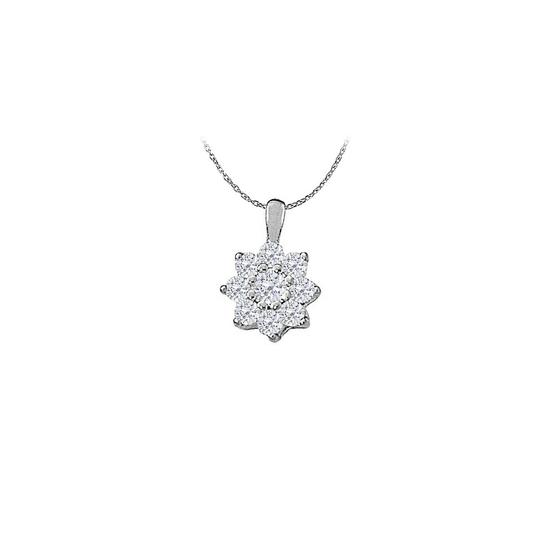 Preload https://img-static.tradesy.com/item/23902481/white-cubic-zirconia-star-pendant-in-sterling-silver-100-ct-tgwperfect-jew-necklace-0-0-540-540.jpg