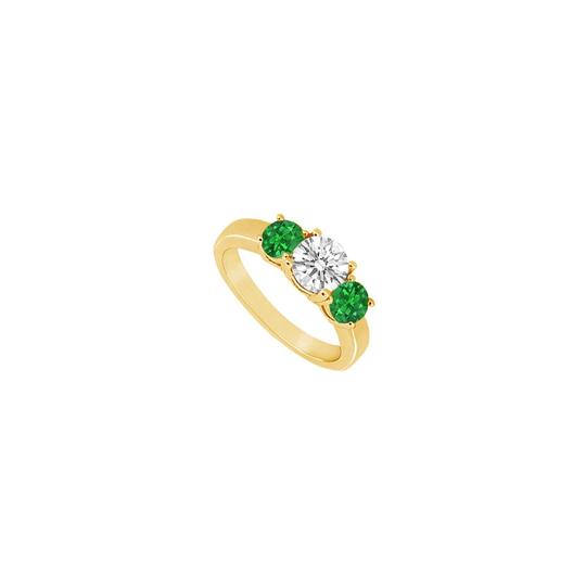 Preload https://img-static.tradesy.com/item/23902603/yellow-green-white-three-stone-created-emerald-and-cubic-zirconia-gold-vermeil-ring-0-0-540-540.jpg
