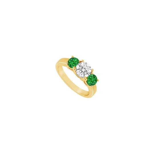 Preload https://img-static.tradesy.com/item/23902625/yellow-green-white-three-stone-created-emerald-and-cubic-zirconia-gold-vermeil-ring-0-0-540-540.jpg