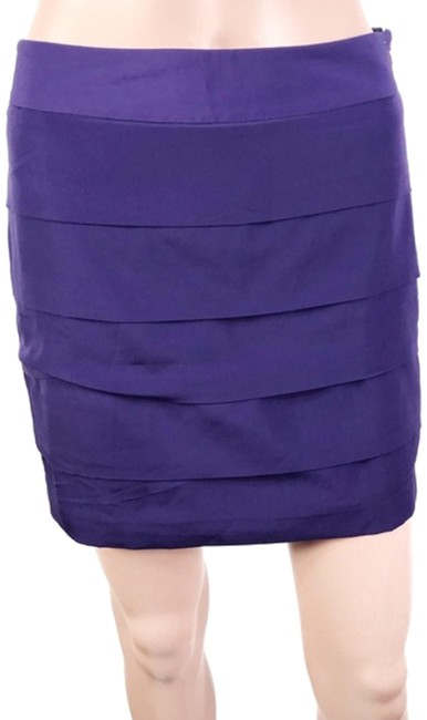Loft Mini Skirt Purple Image 0
