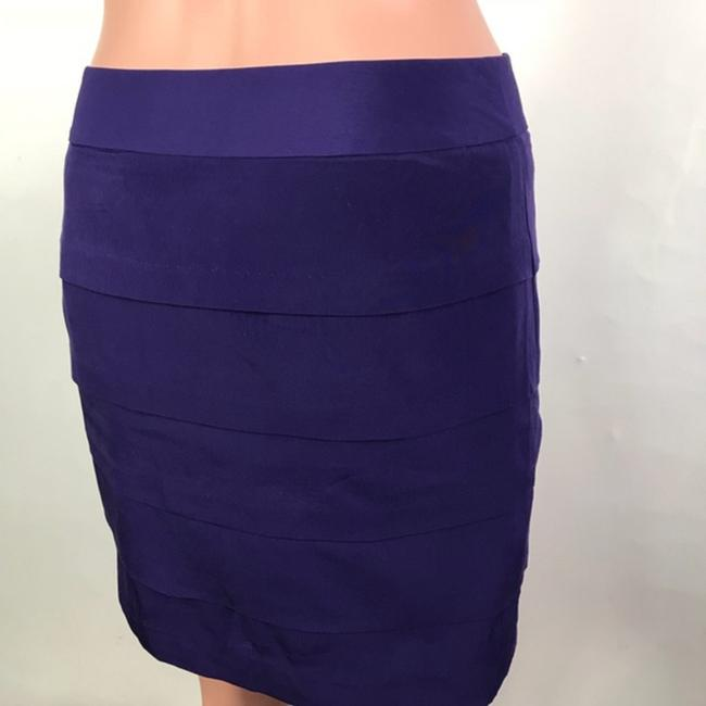 Loft Mini Skirt Purple Image 4