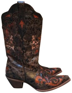 Corral Boots Brown,cognac Boots