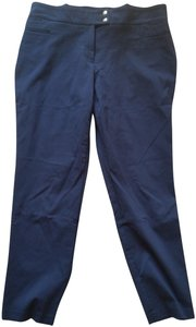 Style & Co Straight Pants Navy blue