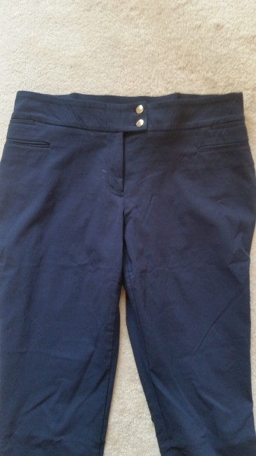 Style & Co Straight Pants Navy blue Image 1