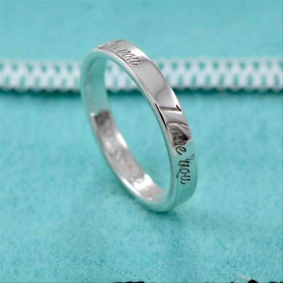 Tiffany Amp Co W I Love You Sterling Silver Notes