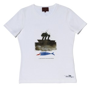 Salvatore Ferragamo T Shirt white