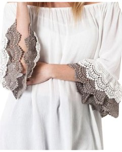 Umgee Lace Top White