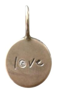 Heather Moore Jewelry gold Love charm