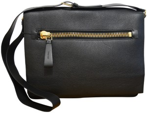 Tom Ford Black Messenger Bag