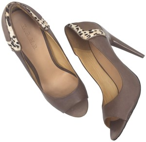 L.A.M.B. Lamb Leather Dora Taupe Pumps
