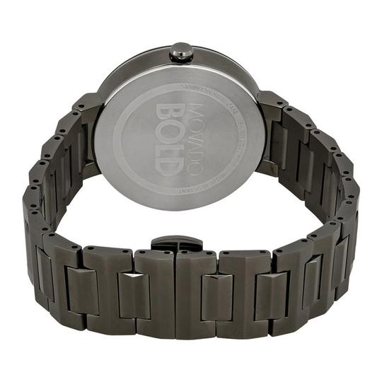 Movado Bold Grey Dial Gunmetal Ion-plated Ladies Watch Image 2