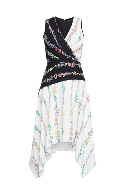 BCBGMAXAZRIA short dress Floral on Tradesy Image 2