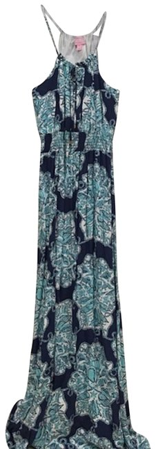 Preload https://img-static.tradesy.com/item/23904007/lilly-pulitzer-blue-white-hey-sailor-long-casual-maxi-dress-size-10-m-0-1-650-650.jpg