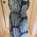 Blue, White Maxi Dress by Lilly Pulitzer Image 2