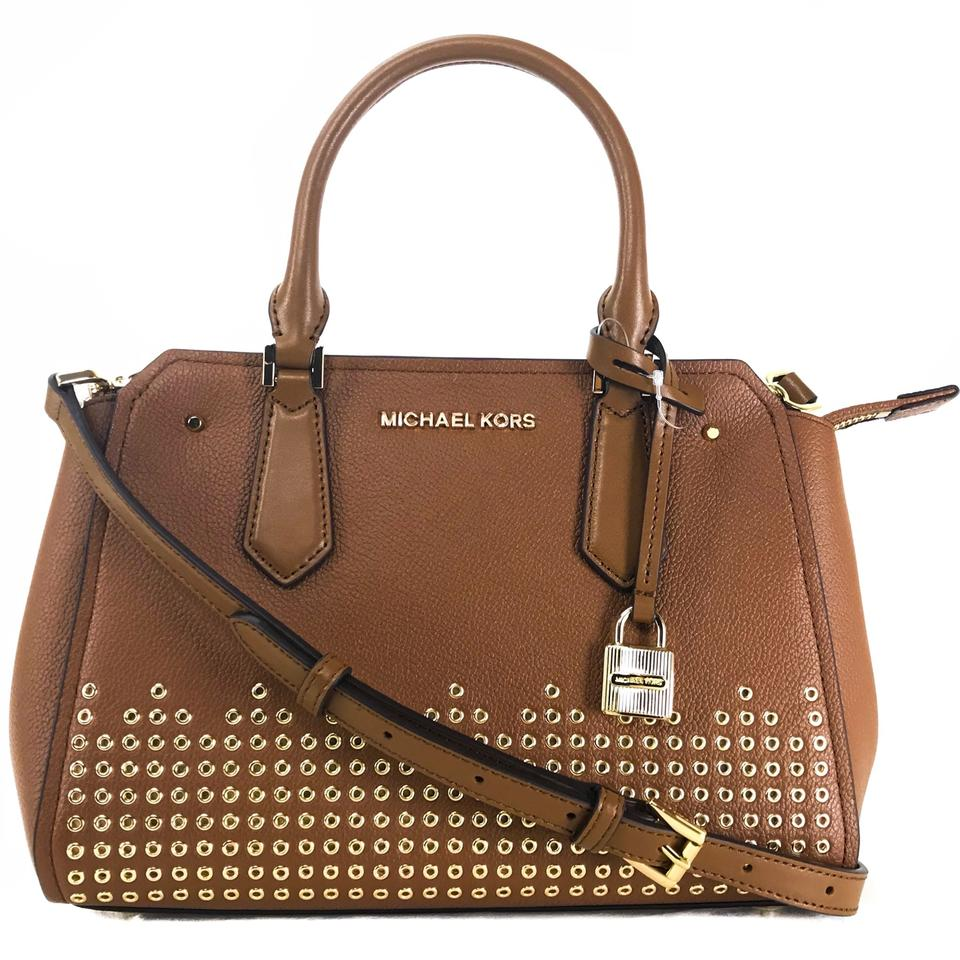 6e9aa0fe7ccf ... new zealand michael kors bags mk crossbody bags hayes brown messenger  bag 27173 75f0b