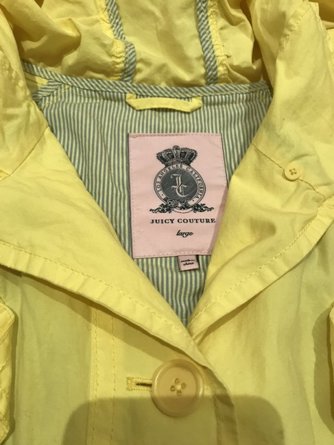 Juicy Couture Yellow - Jacket Size 12 (L) Juicy Couture Yellow - Jacket Size 12 (L) Image 3