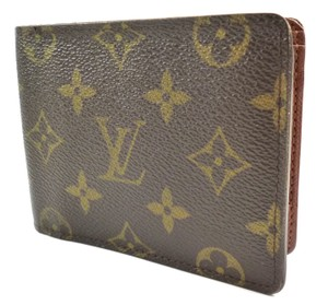 Louis Vuitton Brown Multiple Wallet Monogram Canvas Men's Jewelry/Accessory
