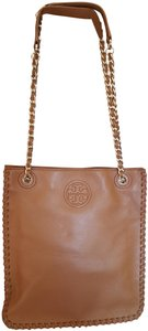 Tory Burch Leather Tan Messenger Bag