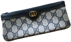 Gucci GUCCI Monogram Canvas Pouch