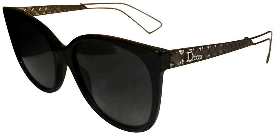 539836b4aecd4 Dior Black New Diorama 3 - Cut Out Cat Eye Sunglasses - Tradesy