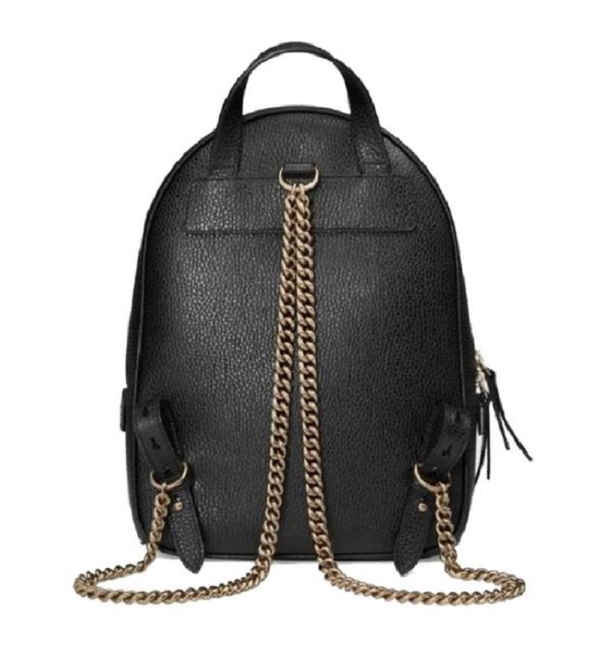 e8f92ffcca16 Black Gucci Backpack With Gold Chain- Fenix Toulouse Handball