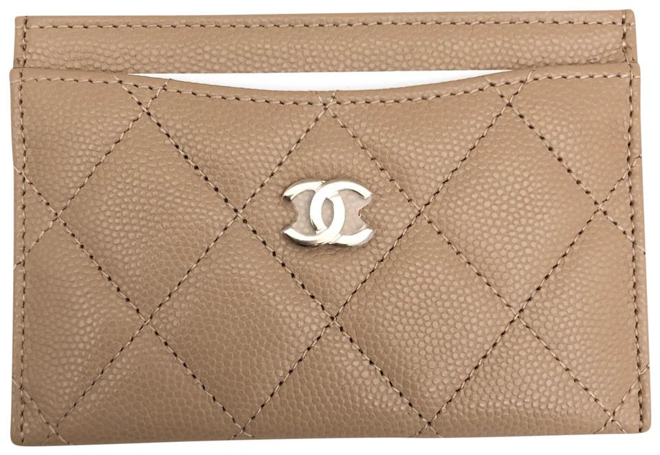 c884e470459d Chanel Beige 18b A31510 Card Holder Wallet - Tradesy