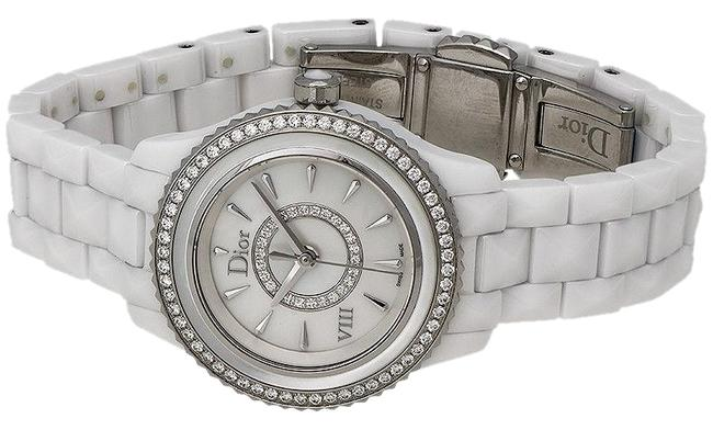 Dior White Cd1221e6c001 Watch Dior White Cd1221e6c001 Watch Image 1