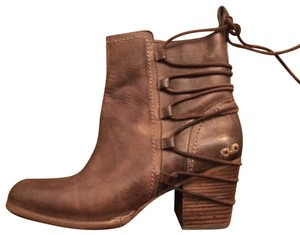 Bed|Stü Leather Lace-up brown Boots