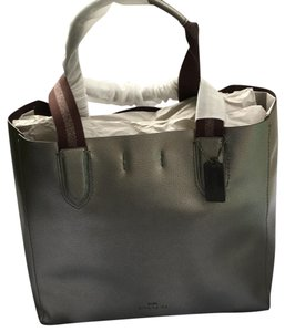Coach Tote in Gunmetal-Grey