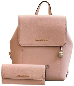 Michael Kors Leather Hayes Hayes Wallet Backpack