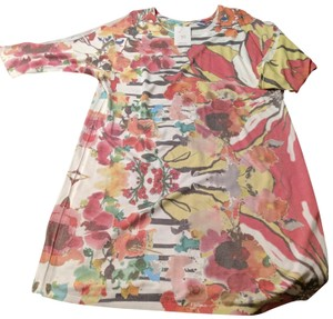 Atelier Luxe short dress Multi Size Large Ladies Floral on Tradesy