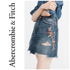 Abercrombie & Fitch Mini Skirt blue