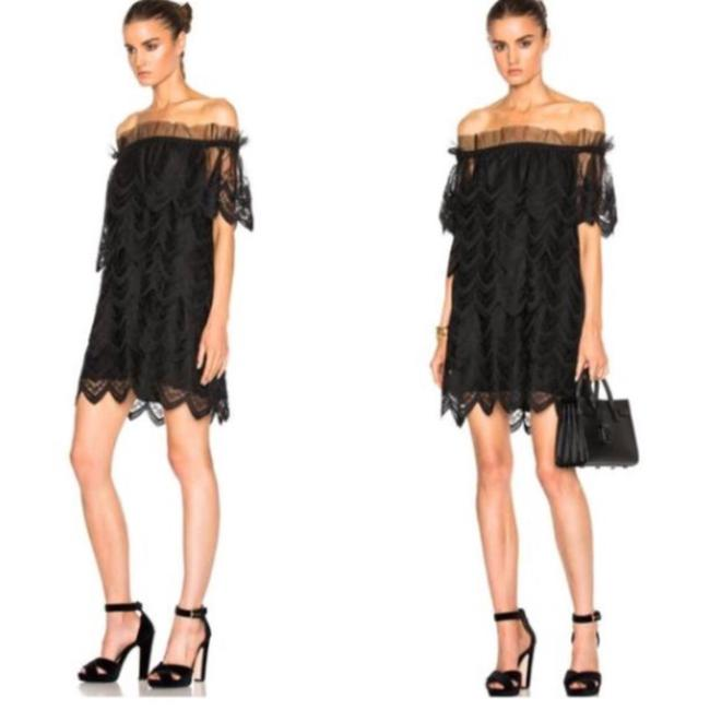 Preload https://img-static.tradesy.com/item/23906667/alexis-black-lace-floral-crochet-off-shoulder-ali-mid-length-cocktail-dress-size-4-s-0-5-650-650.jpg