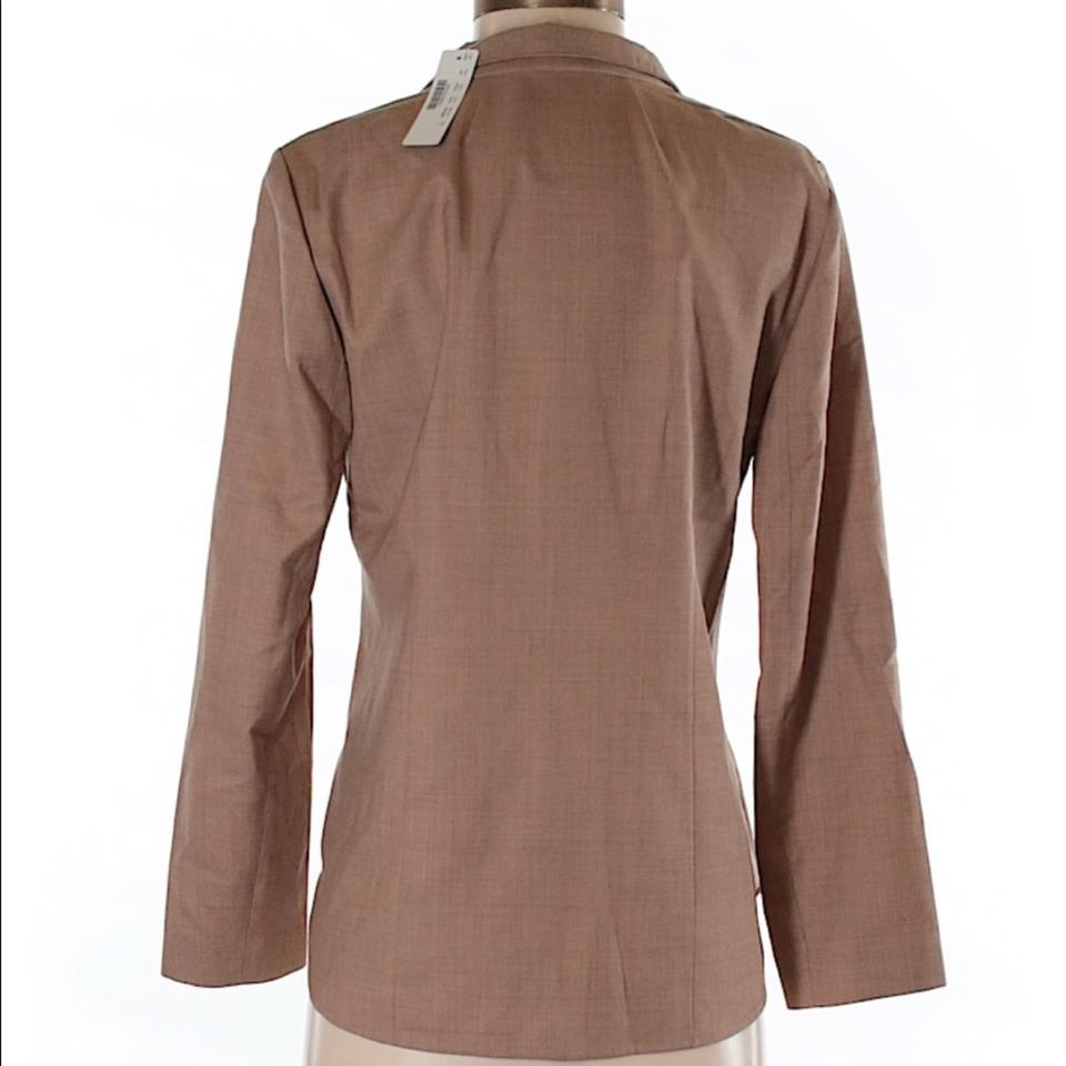 Brown J Crew Super Pullover 120s Popover Wool Sweater In Shirt Nwt A5APxnqrw