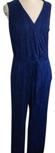 NY Collection Belted Wide-Leg Jumpsuit