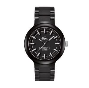 Lacoste Lacoste Men's Borneo Black Silver Analog Quartz Watch