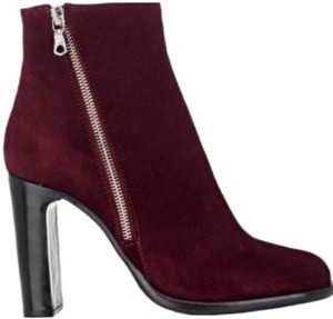 85bb33f824c2 Rag   Bone Red Wine Burgundy Avery Boots Booties Size EU 40 (Approx ...