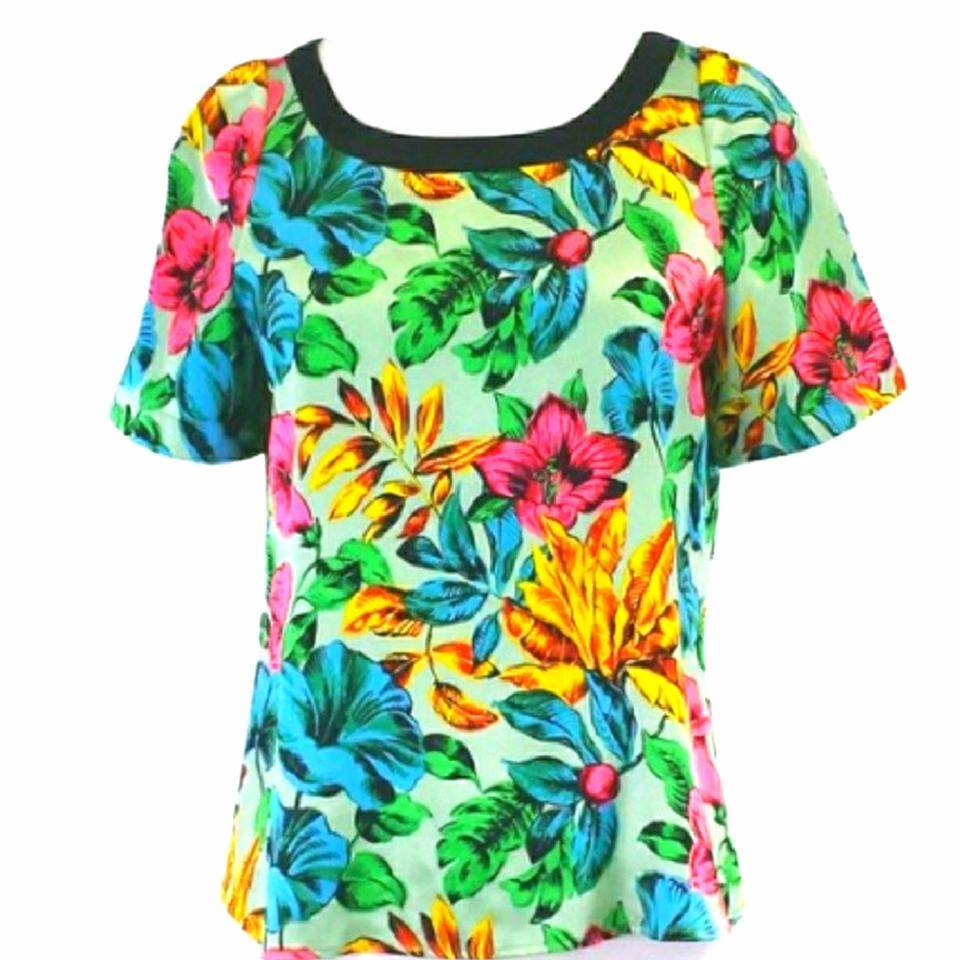Jacobs Havana M1113213 Floral Marc Marc Blouse by KycCCE
